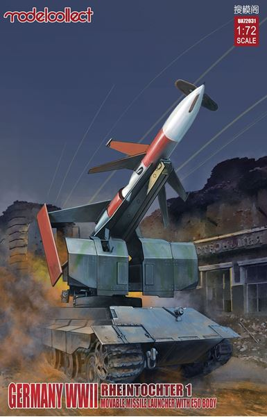 Picture of Germany Rheintochter 1 movable Missile launcher with E-50 body