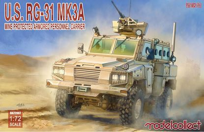 Picture of U.S RG-31 MK3A Mine protected armored personnel carrier
