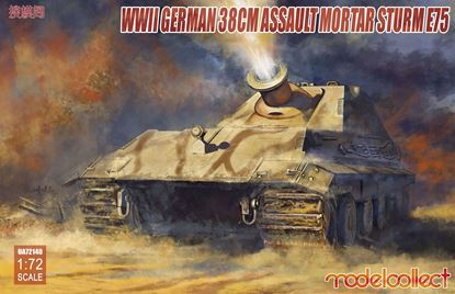 Picture of German WWII 38cm Assault Mortar Sturm E75